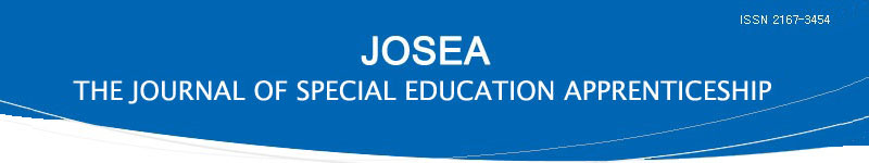 Journal of Special Education Apprenticeship